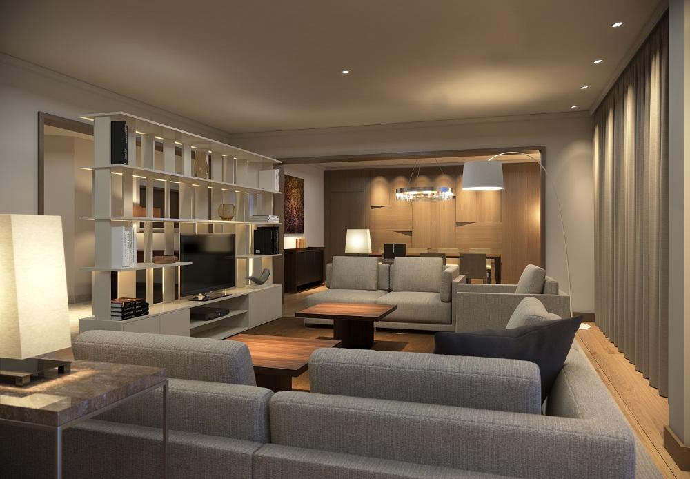 Suite Refurbishment In Hyatt Regency Hotel Elegant And Luxurious