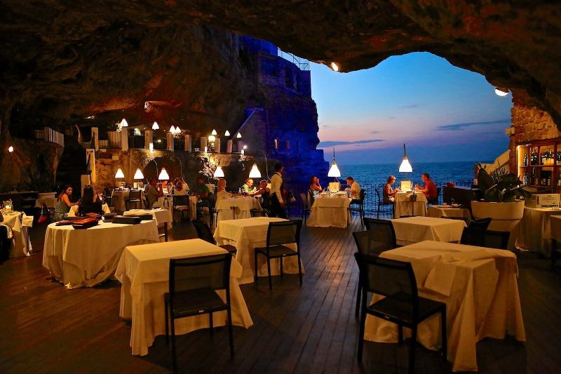 Restoran u pećini - Grotta Palazzese