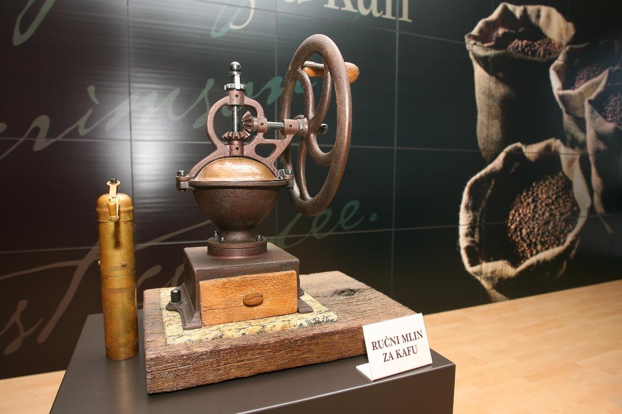 Donkafa Muzej, rucni mlin za kafu