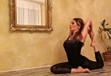 Radmila Knezevic, licenced yoga instructor of the Vidya Voga School