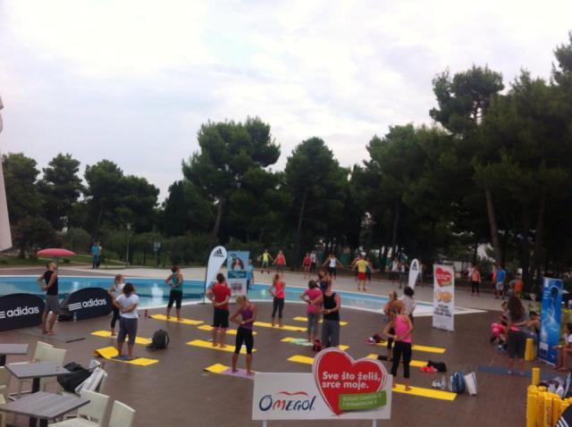 Fitness & Aerobic Kamp, Hotel Olympia, Vodice