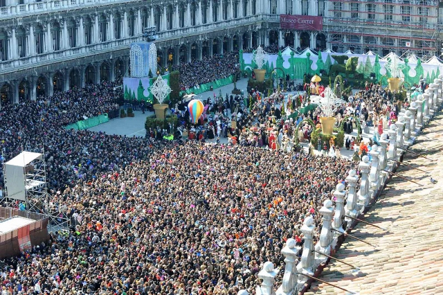 Carnival of Venice - St Mark Square