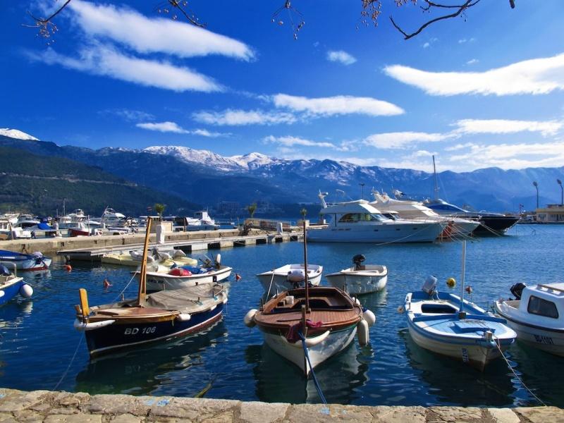 Marina in Budva