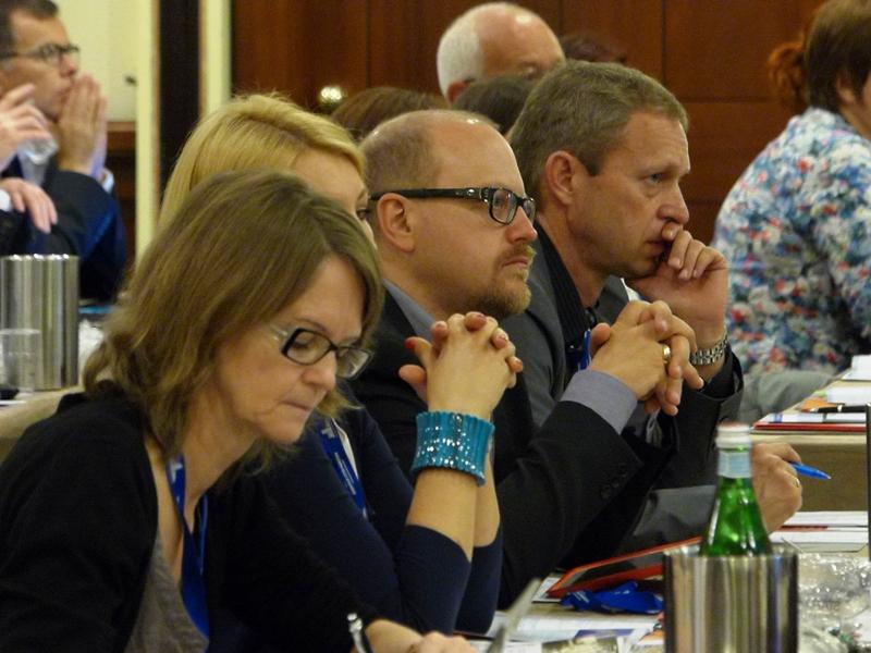 Učesnici ECM godišnjeg sastana u Torinu, jun 2015