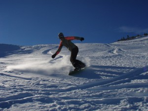 Bjelasnica mt snowboarding