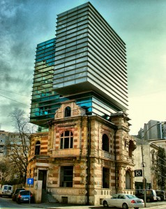 Bucharest building