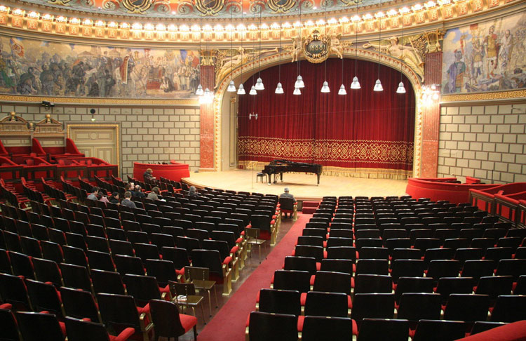Bucharest - Athenaeum's Concert Hall