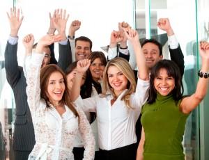 Business Team Success