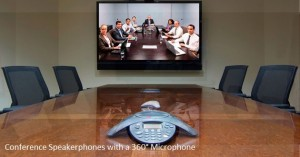 Conference Speakerphones with a 360° Microphone 2