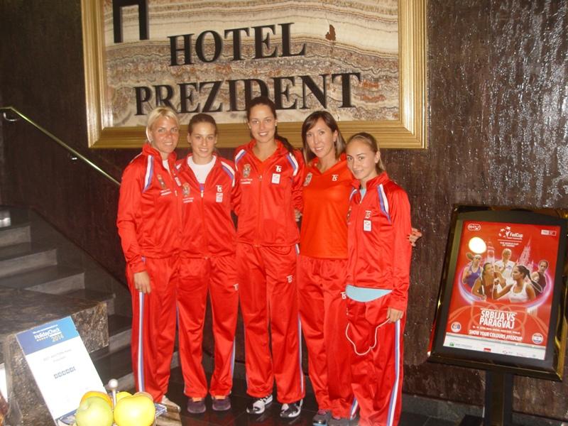 Teniski tim Srbije