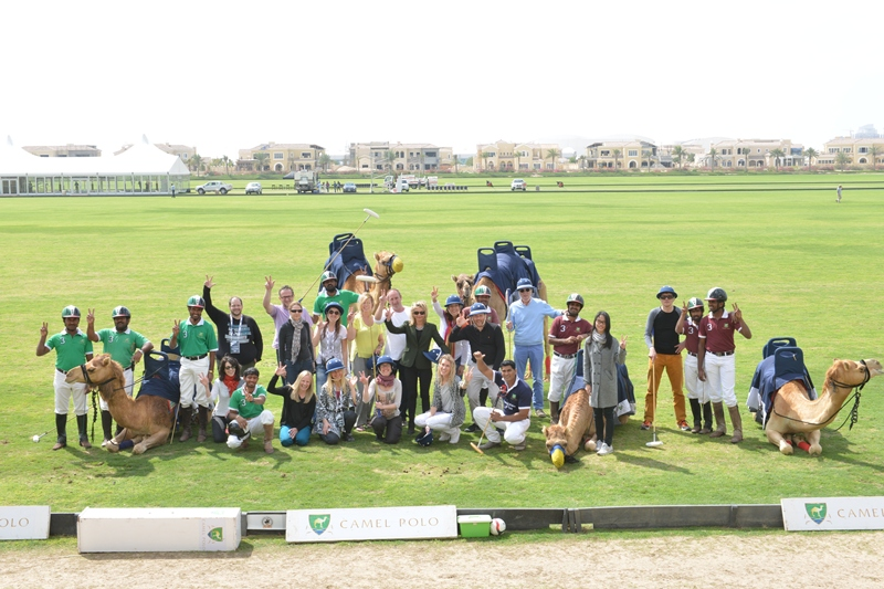 Camel Polo - fun and team building
