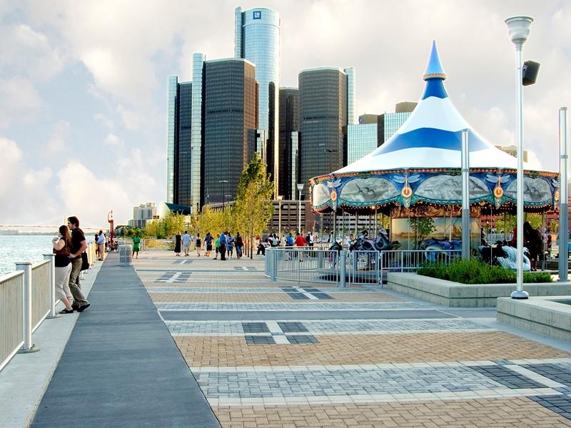 Detroit International Detroit International Riverfront - Detroit Riverfront Conservancy