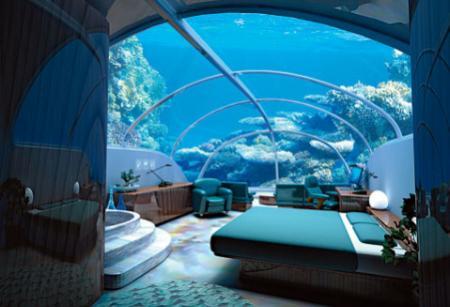 First Underwater Hotel In Dubai