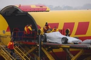 Formula 1 - air craft loading