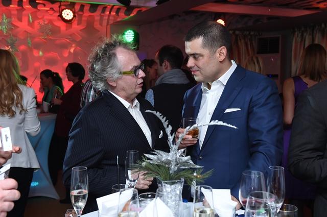 g-din Ivan Tasovac, Ministar kulture i Generalni direktor g-din Aleksandar Vasilijević