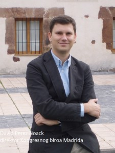 David Pérez Noack, Direktor Kongresnog biroa Madrida