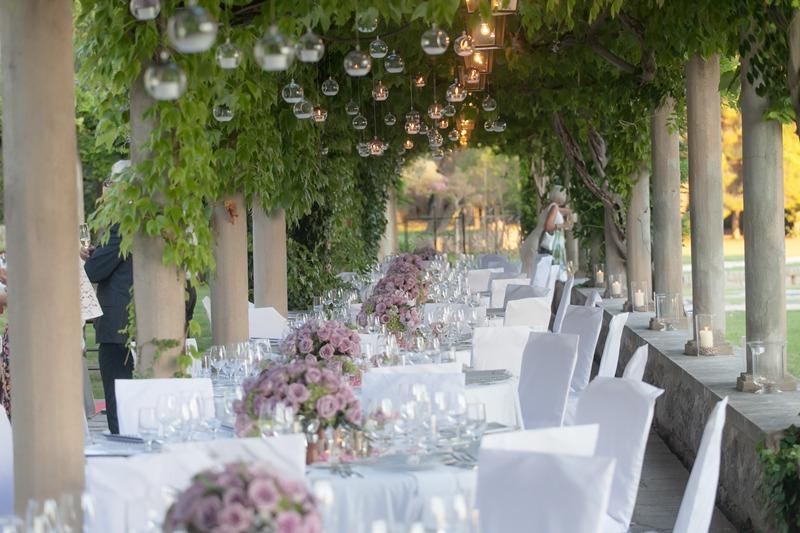 Gala dinner at Villa Milocer, Montenegro