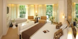 Hotel Amfora Deluxe room - park view