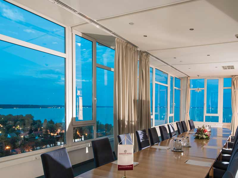 Sky bar in hunguest hotel bal resort on balaton see for 13th floor in hotels history
