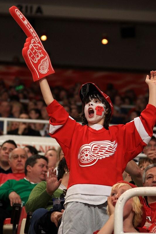 Redwingsfan Kid Dave Reginek Detroit Red Wings