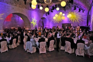 Gala dinner in Revelin Fortress, Dubrovnik