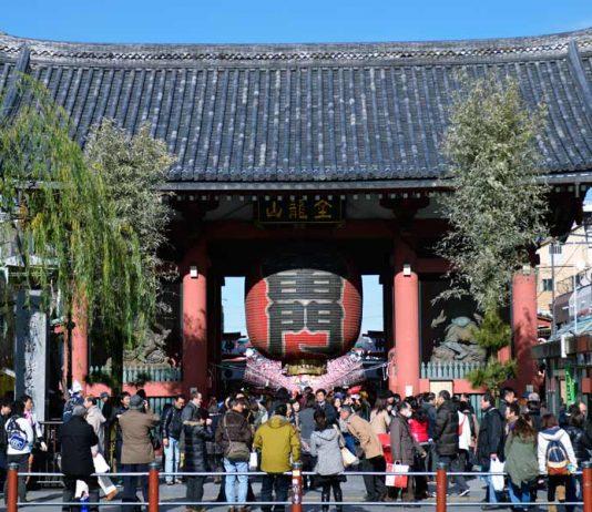 Sensoji Temple in Tokyo, credit JNTO