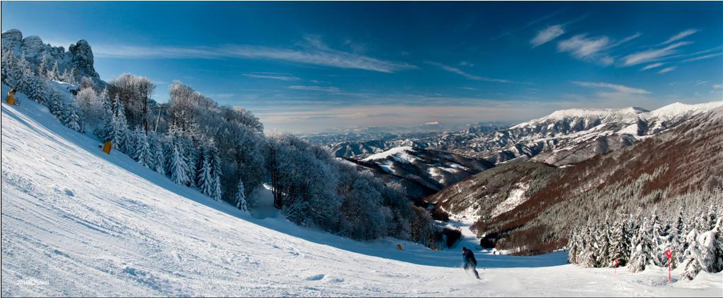 ski center on Stara Planina