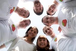 Strawberry energy team