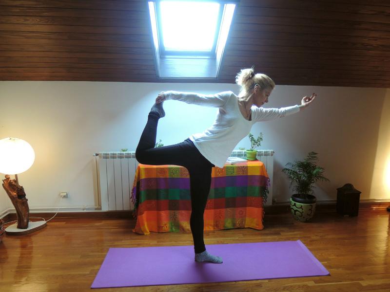 Suzana Jakovic, Yoga Instructor