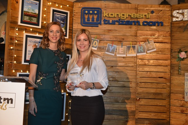 Katarina Stojanovic, Director of Marketing, Restaurant Top of the Hub, Belgrade, Serbia