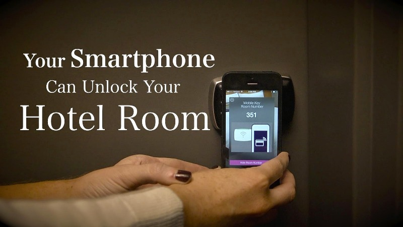 Unlock Your Room at Starwood Using Smartphone