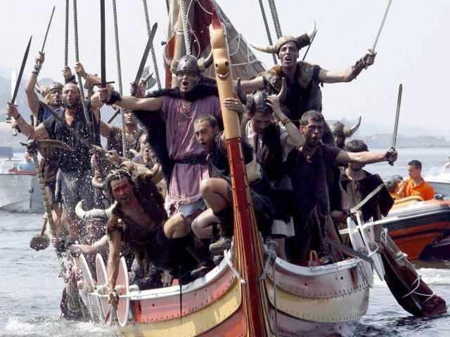 Viking Festival, Catoira, Spain