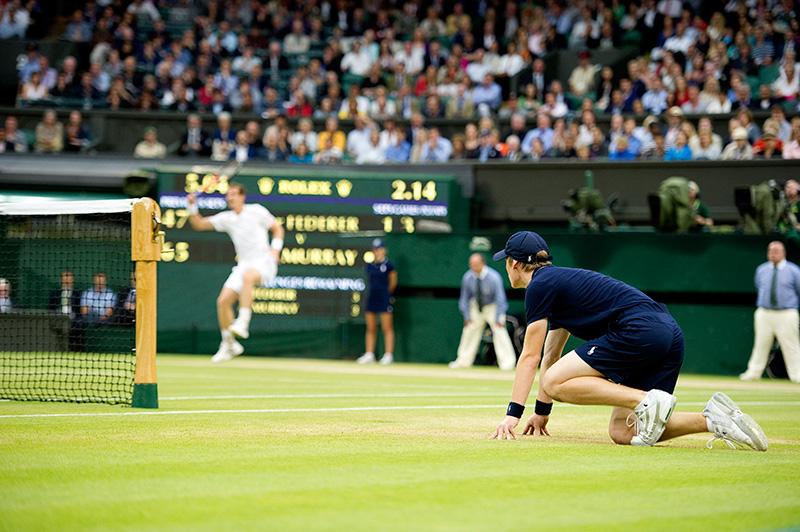 Wimbledon - Ball Boy Centre Court