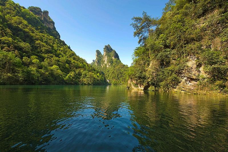 VulingIuan laguna i oblast od istorijskog značaja, Kina