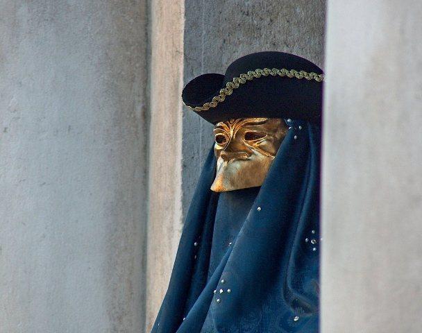 Maska Bauta - Karneval u Veneciji