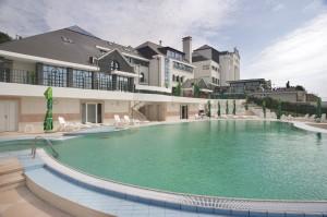 bazen hotela Villa Breg
