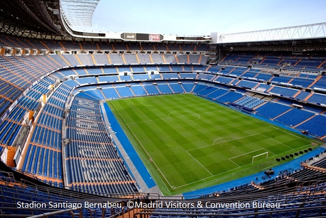 Stadion Santiago Bernabeu, © Madrid Visitors & Convention Buerau