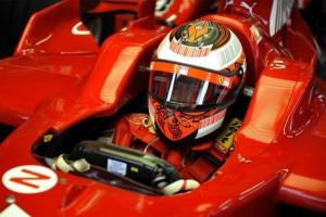 Formula 1 - Raikkonen helmet