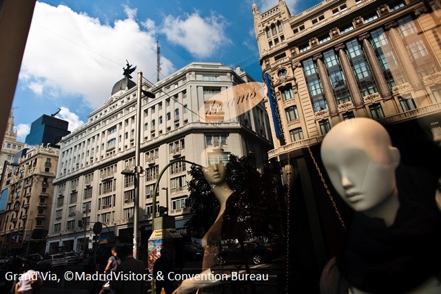 Grand Via, © Madrid Visitors & Convention Bureau
