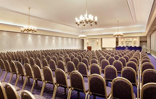 Grand ballroom in Sheraton Zagreb Hotel