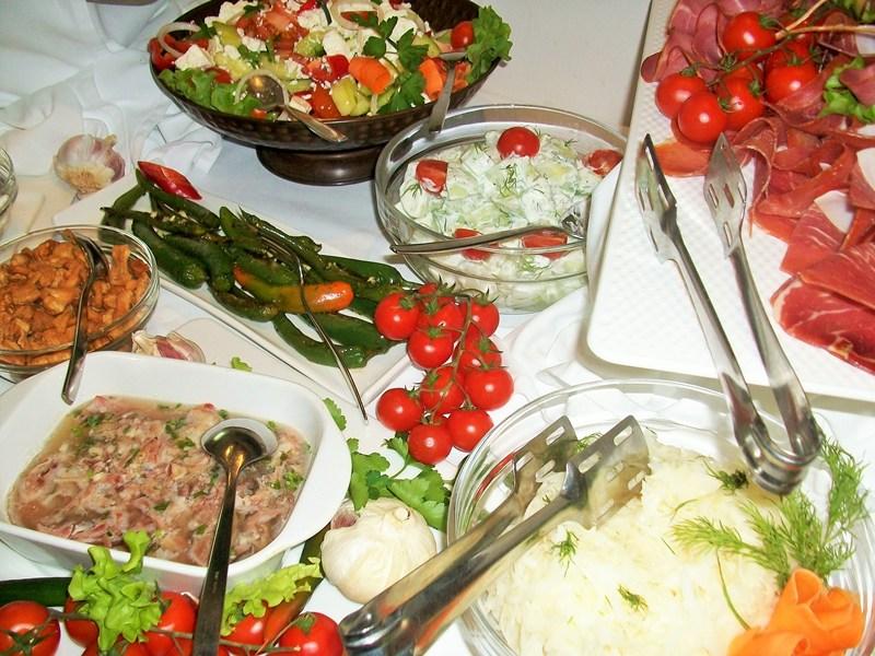 Gourmet scene of Belgrade