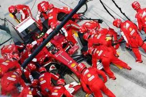 Formula 1 - pit stop