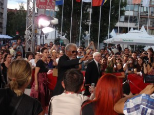 Sarajevo film festival - Morgan Freeman