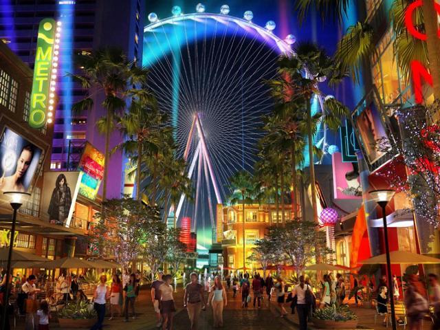 Točak sa panoramskim pogledom Las Vegas