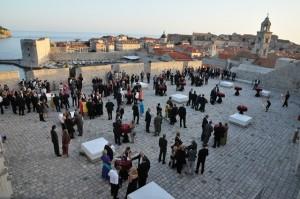 Piće dobrodošlice na terasi tvrđave Revelin, Dubrovnik